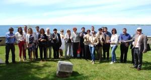 Maurizio Potocnik presenta la Guida Magnar Ben Best of Alpe Adria 2014 con la regione e l'Ente del Turismo dell'Istria.