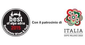 Best of Alpe Adria con il Patrocinio di Expo 2015 Padiglione Italia.