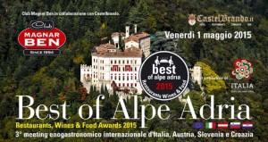 Programma ufficiale 3° Meeting enogastronomico dell'Alpe Adria a Castelbrando.