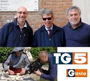 Magnar Ben e TG5 Gusto Gioacchino Bonsignore e Maurizio Potocnik
