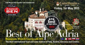 Best of Alpe Adria 2015 in a castle. The third international food and wine festival  of Italy, Austria, Slovenia and Croatia.