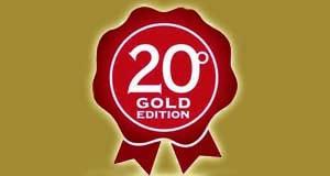 """20° edizione speciale """"Gold Edition"""""""