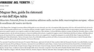 Corriere del Veneto Maurizio Potocnik