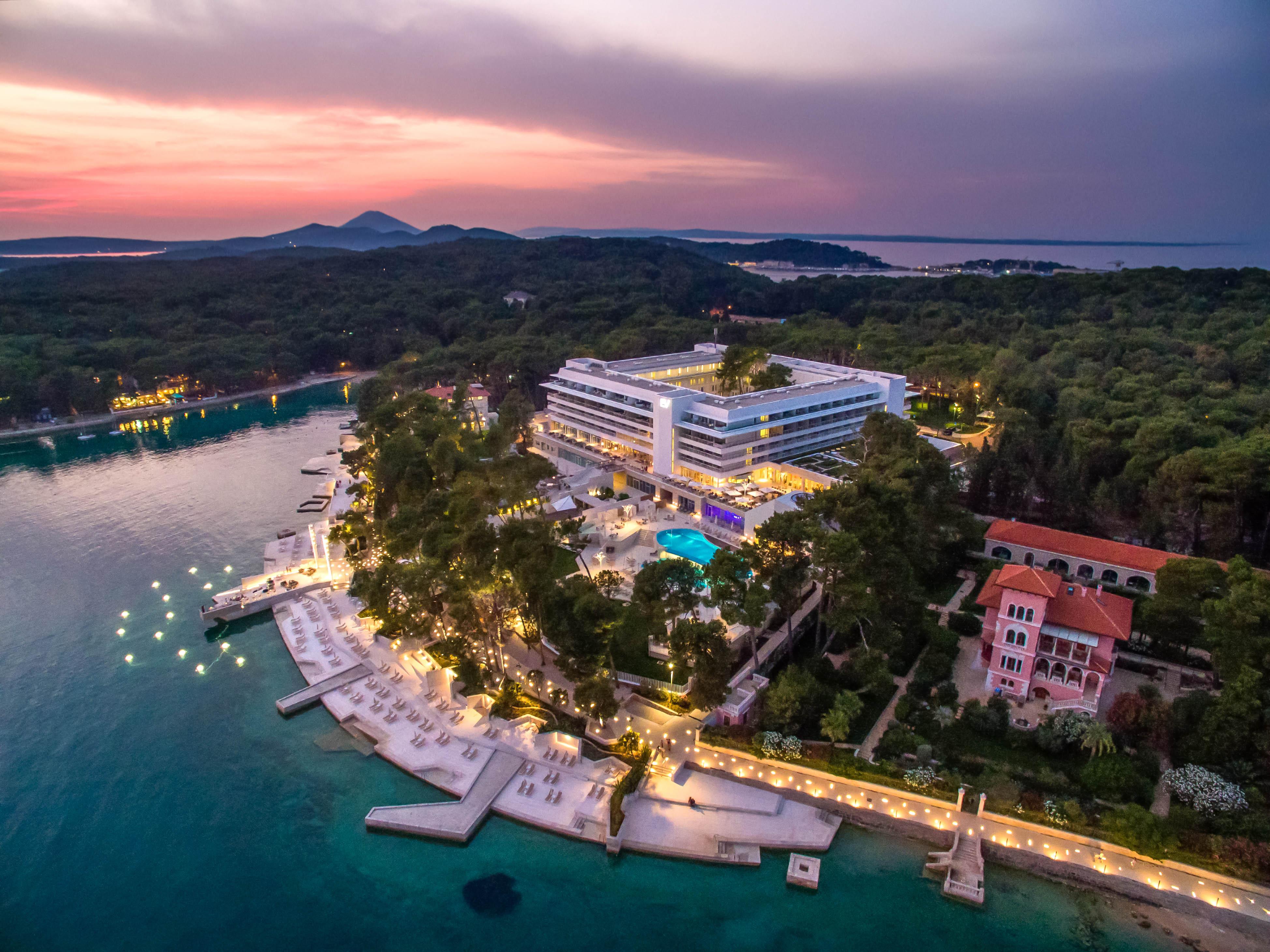 Lussino hotel da sogno nell isola della vitalita club for Isole da sogno a sud della birmania codycross