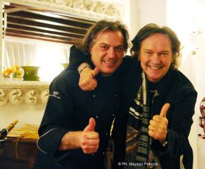 Red Canzian e Tino Vettorello Maurizio Potocnik Ph