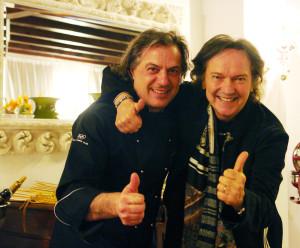 Red Canzian e Tino Vettorello e Maurizio Potocnik