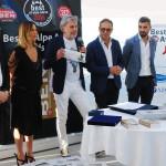 Maurizio Potocnik con Roberto e Alessandro Bardella Alessandro e Roberta Rorato Terrazza Mare Marcandole