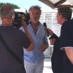 maurizio potocnik intervistato da gioacchino bonsignore a TG 5 GUSTO