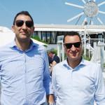 san stino ittica al 1° Fishing educational di Club magnar ben Jesolo Alessandro Marcon e Cristian Raggiotto