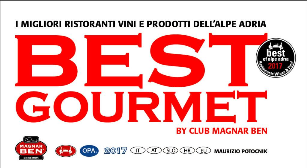 BEST GOURMET 2017 official di Maurizio Potocnik
