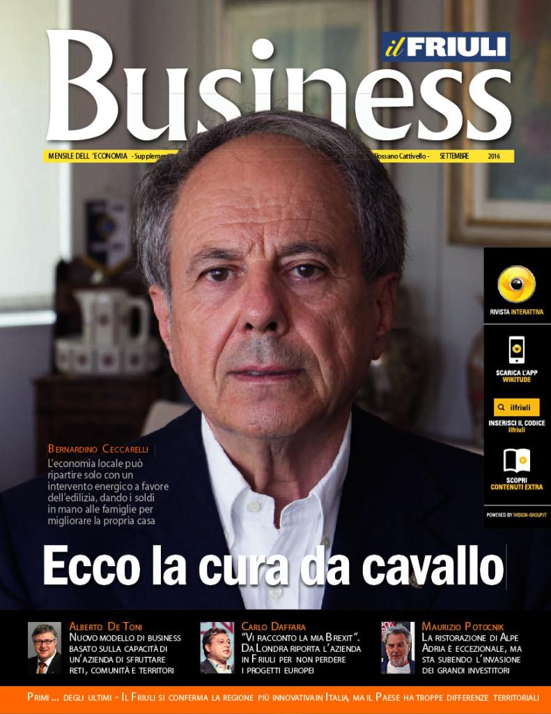 IL Friuli Business - intervisa all'editore Maurizio Potocnik
