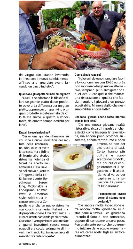 Maurizio Potocnik intervistato sulla rubrica Business del Friuli