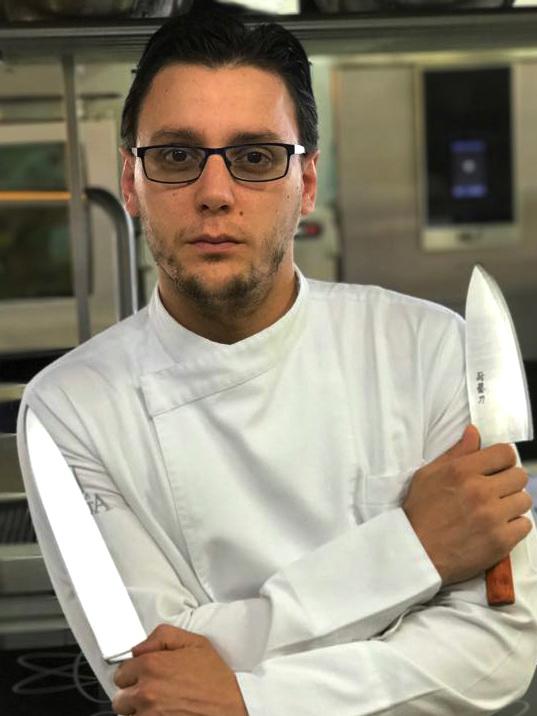 Chef Carlo Nappo Podere dell'Angelo PN