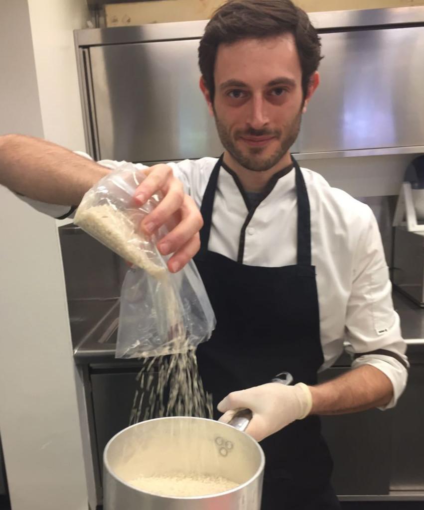 Chef Marco Pirillo ristorante Terrazza Mare Marcandole VE