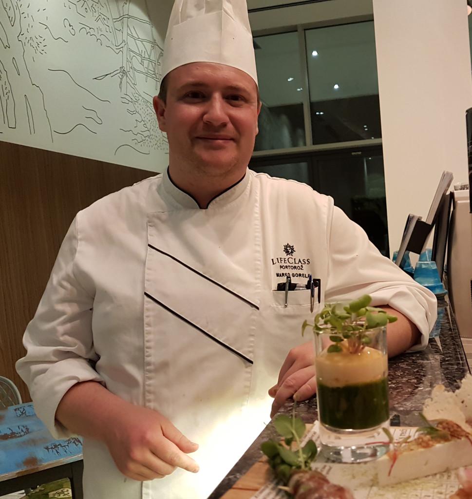 Chef Marko Gorela Istrian Tapas - Slovenia