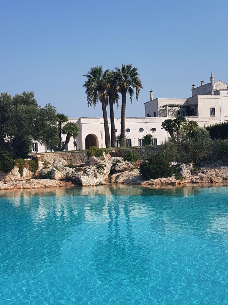 La piscina di Masseria San Domenico