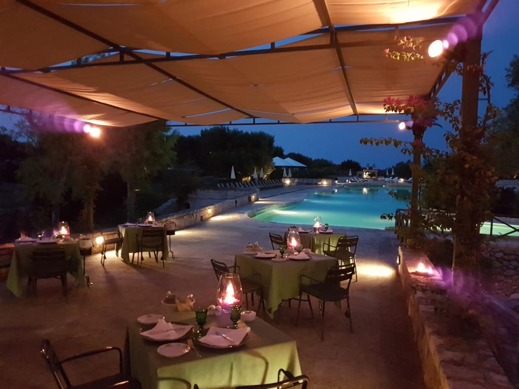 il ristorante della Masseria San Domenico