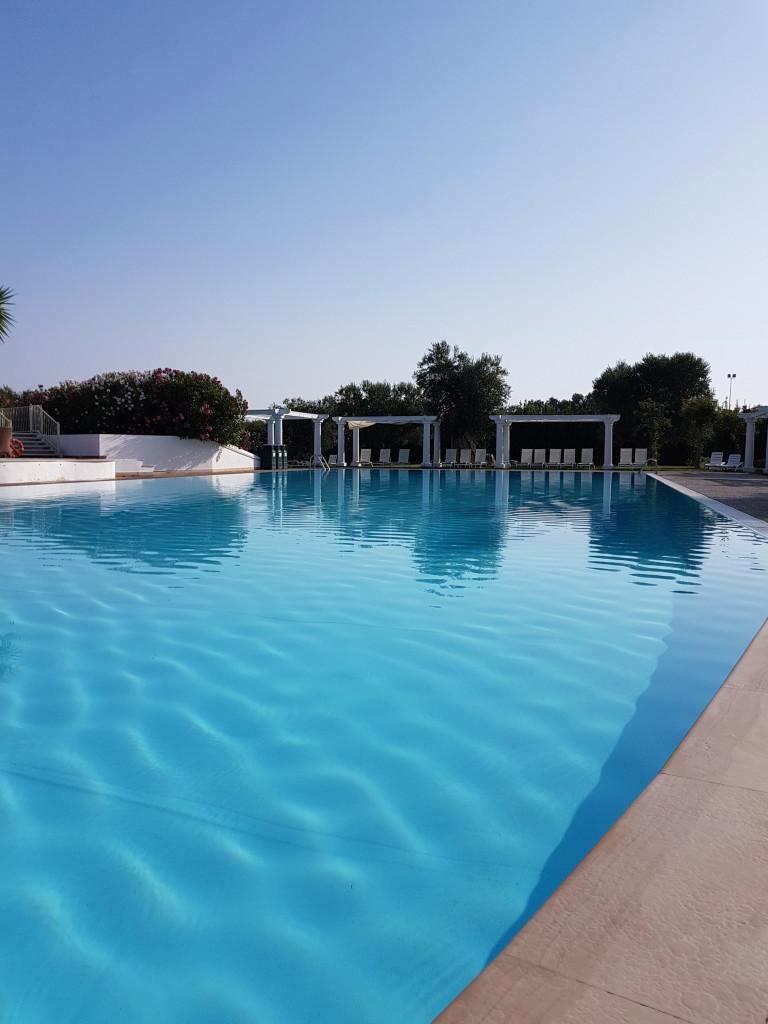 La piscina di Tenuta Moreno