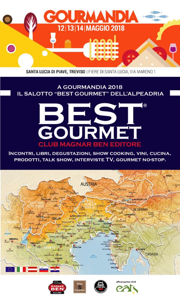 3 giorni di gusto nel Salotto Best Gourmet dell'Alpe Adria a Gourmandia 2018