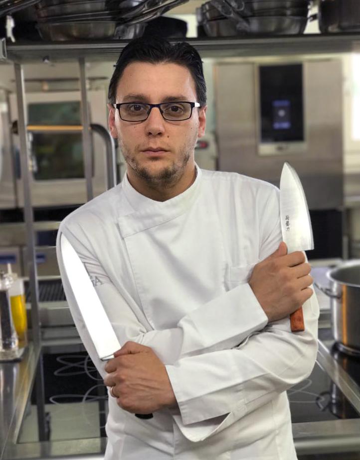 Lo chef Carlo Nappo - award ristorante emergente 2018 Best of Alpe Adria