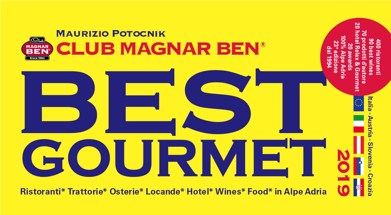 GUIDA MAGNAR BEN BEST GOURMET 2019